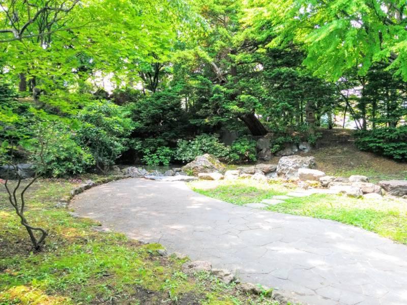 中島公園 日本庭園園内4