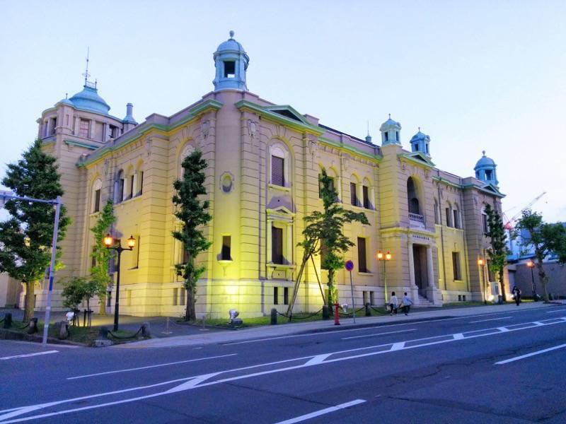 小樽 夕暮れの日本銀行旧小樽支店金融資料館2