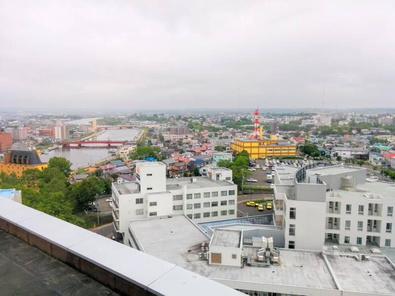 釧路市生涯学習センター 展望台 北東側2