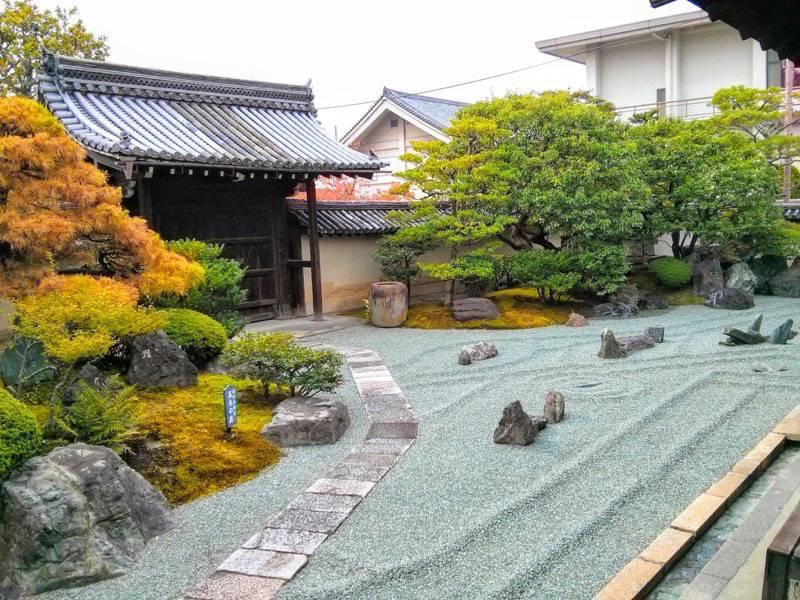 東寺 観智院1五大の庭