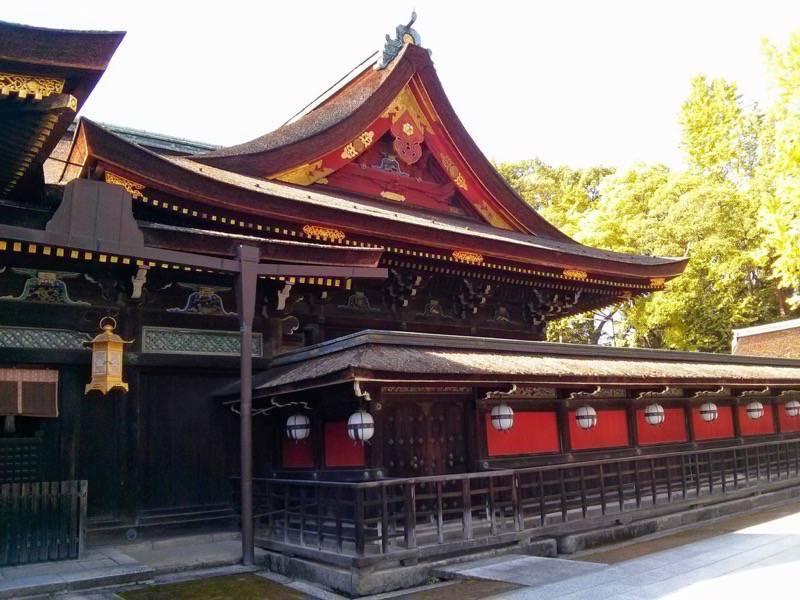 北野天満宮 社殿2