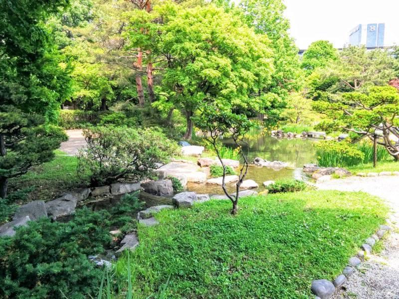 中島公園 日本庭園園内6