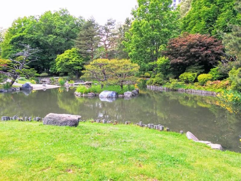 中島公園 日本庭園園内15