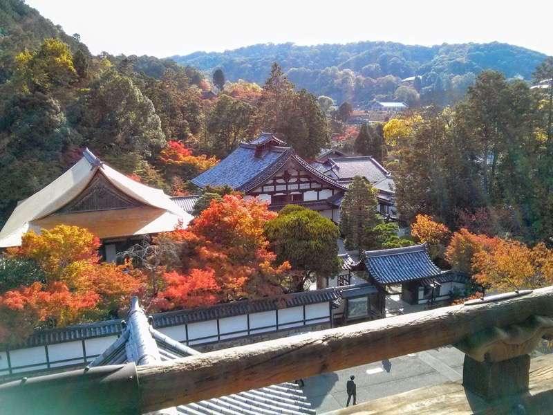 南禅寺 三門からの眺め南側1