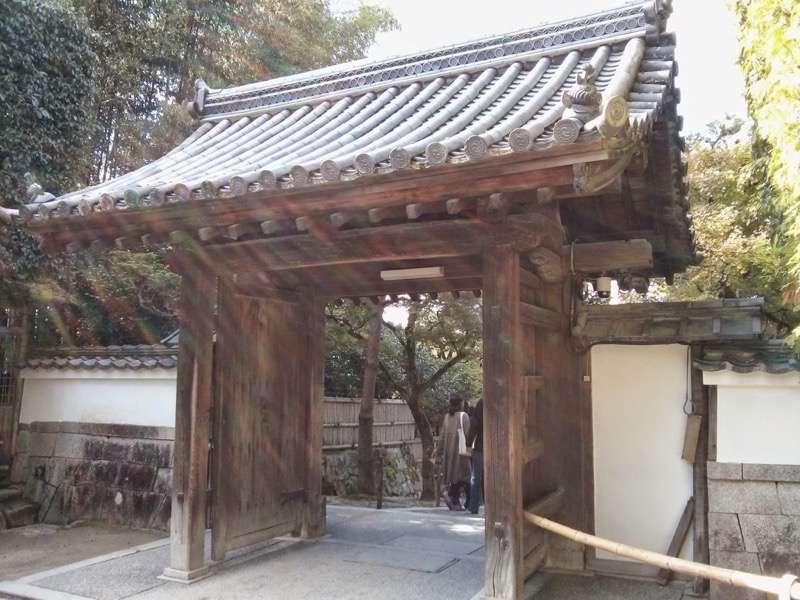 銀閣寺 入口2