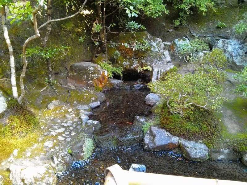 銀閣寺 お茶の井1