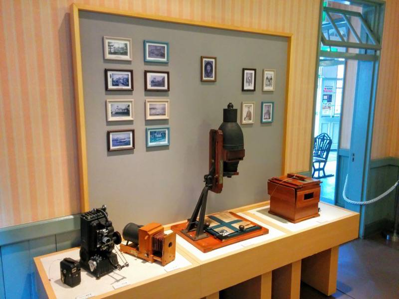 旧函館支庁庁舎 1Fカメラ展示室5