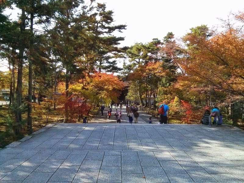 南禅寺 三門から見た勅使門