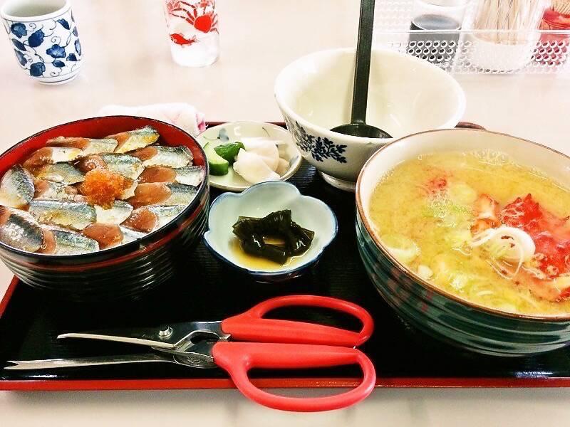 鈴木食堂 さんま丼セット