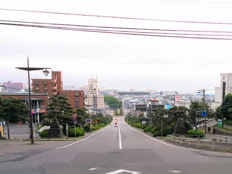 護国神社坂3