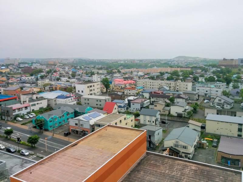 釧路市生涯学習センター 展望台 東南側