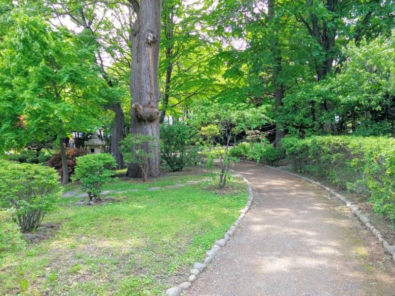中島公園 日本庭園園内8
