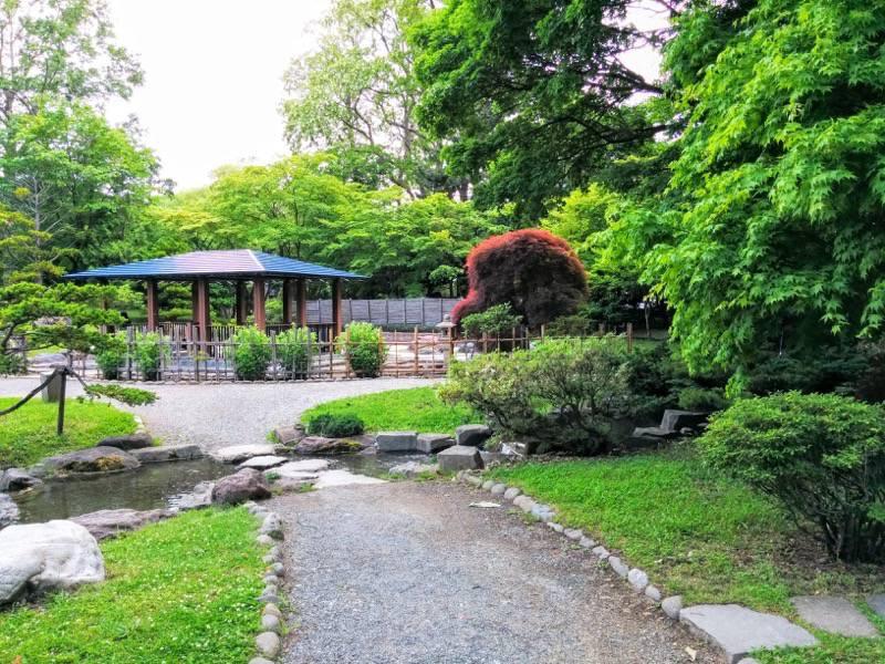 中島公園 日本庭園園内9