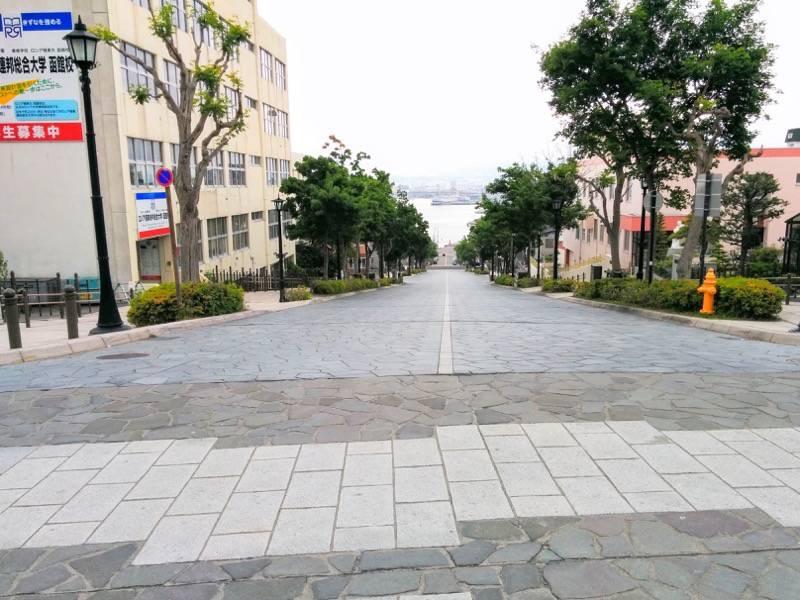函館元町エリア 八幡坂3