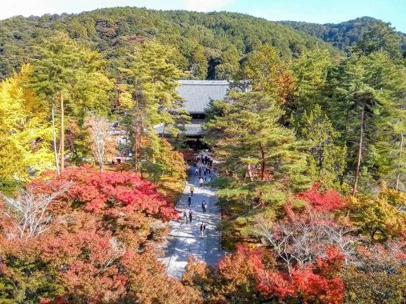 南禅寺 三門からの眺め東側1