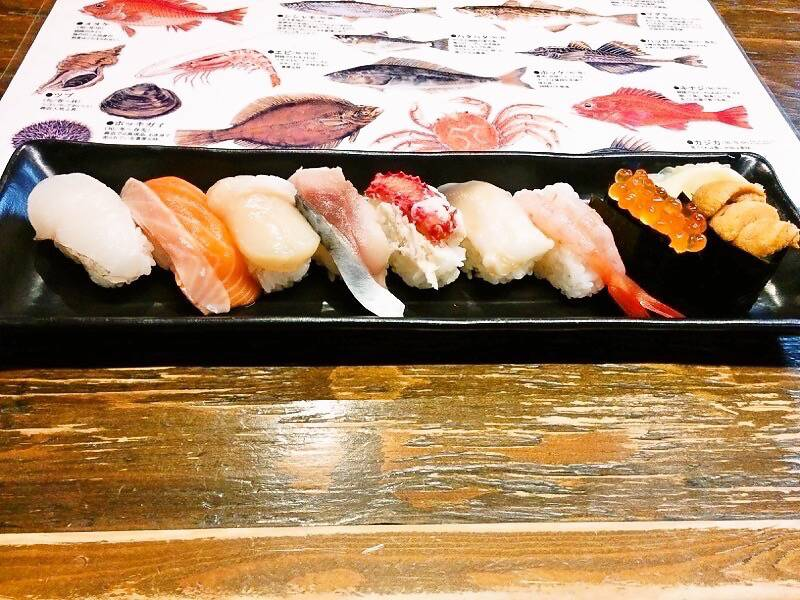 ブう~ にぎり寿司盛り合わせ2