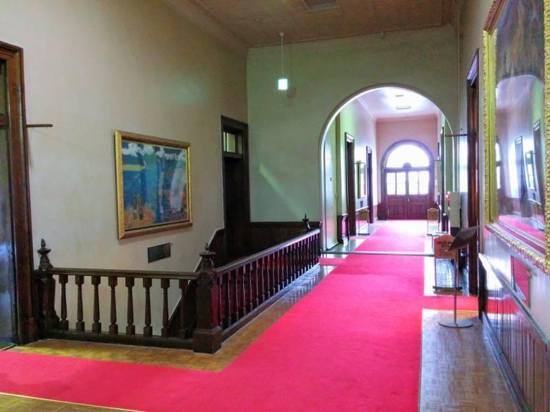 北海道庁旧本庁舎 二階通路3