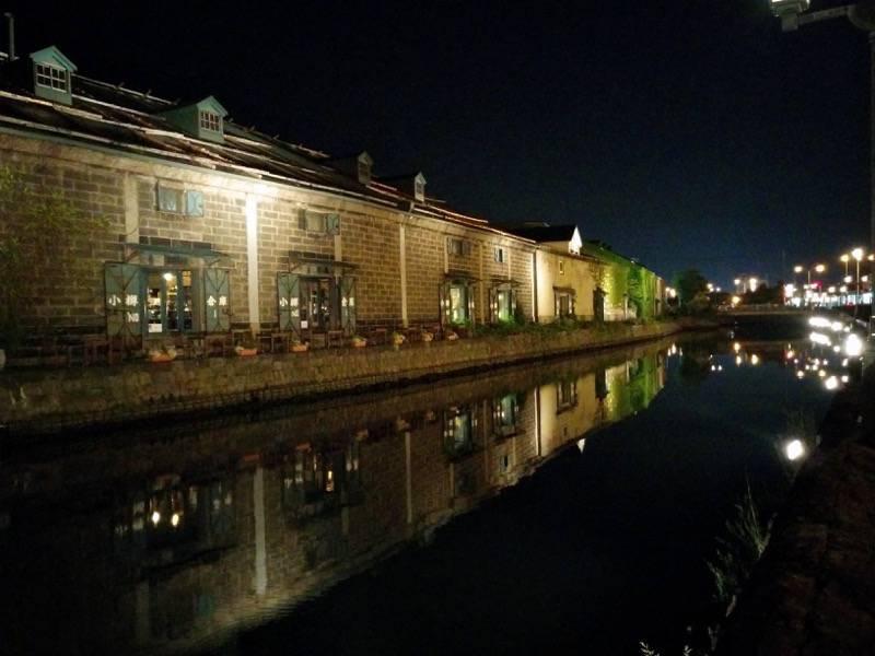 小樽 夜の小樽運河6
