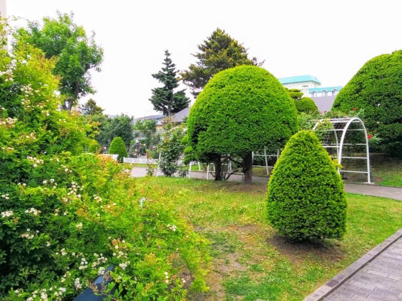 函館市旧イギリス領事館 ガーデン2