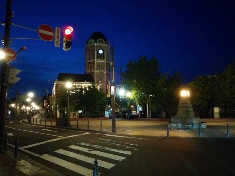 小樽 夜のメルヘン広場