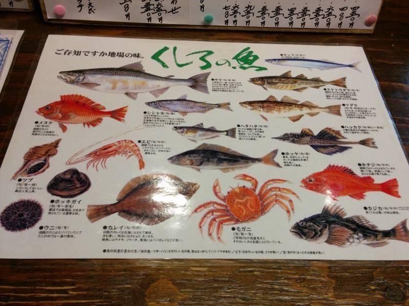 ブう~ くしろの魚