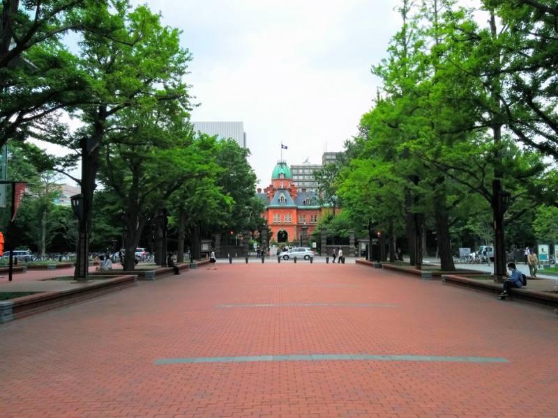 北海道庁旧本庁舎 赤レンガテラスより北海道庁旧本庁舎2