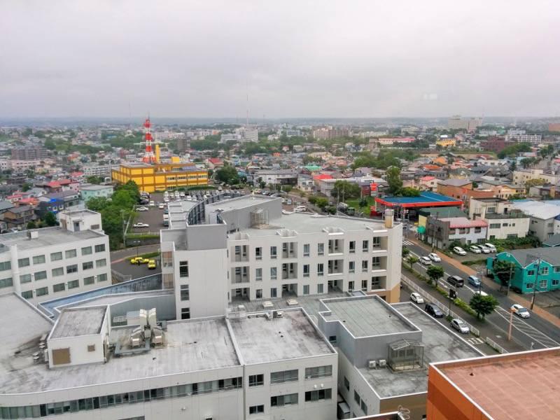 釧路市生涯学習センター 展望台 東側