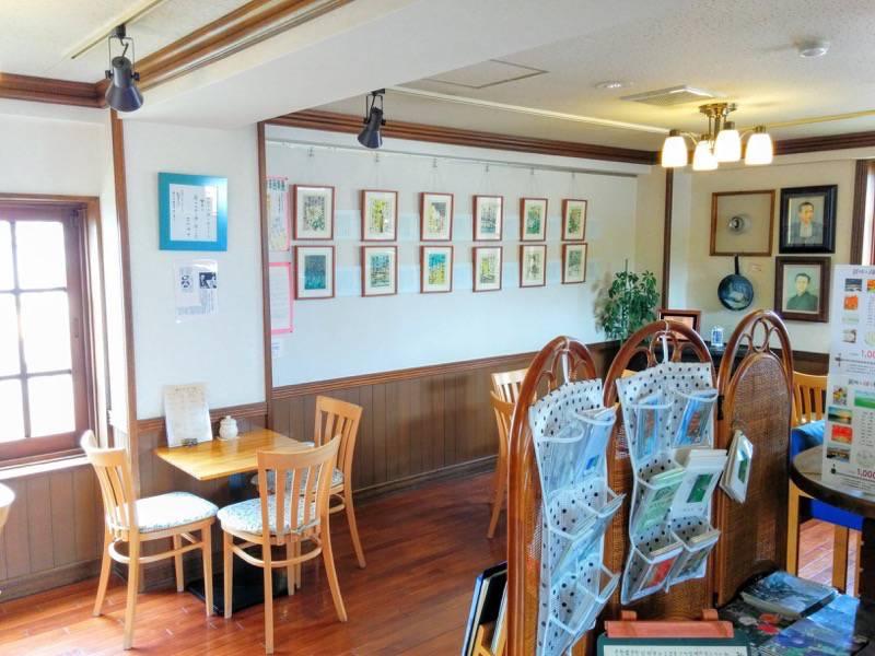 港文館 喫茶店