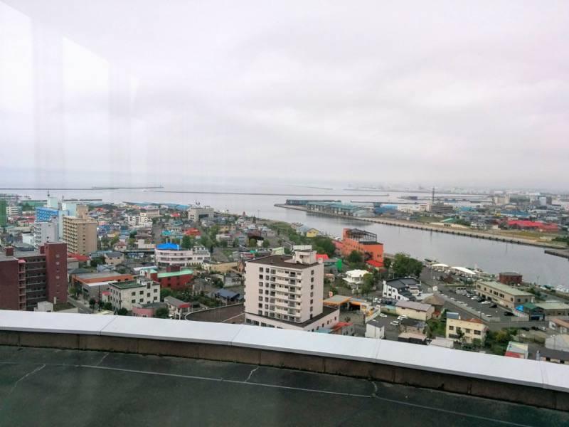 釧路市生涯学習センター 展望台 北西側1