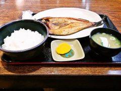 柿崎商店−ホッケ定食