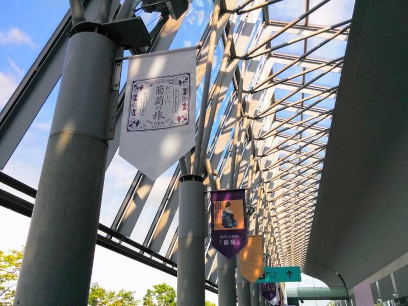 サザンおいしい葡萄の旅 札幌ドーム 垂れ幕2