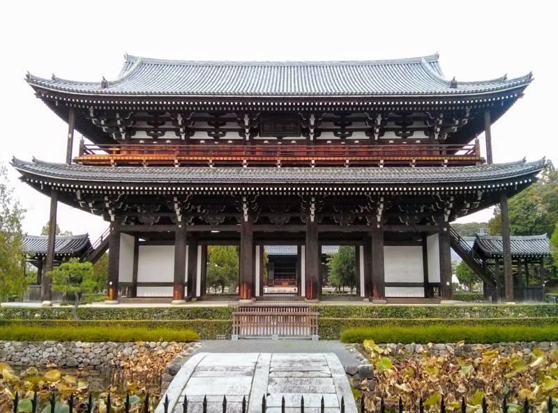 東福寺 三門2