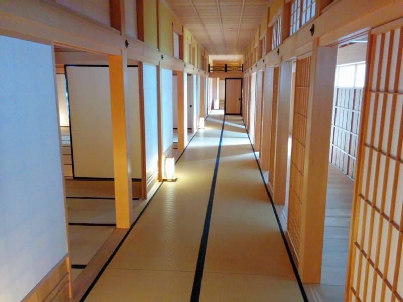 箱館奉行所 大広間横の畳敷き