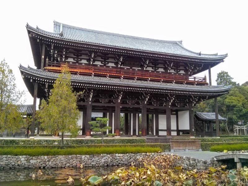 東福寺 三門3