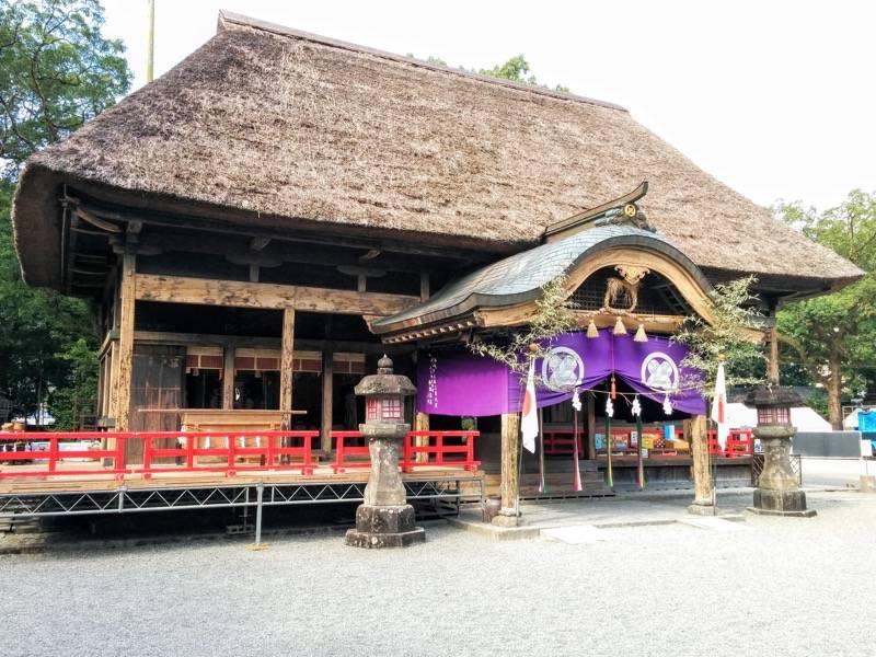 青井阿蘇神社 拝殿2