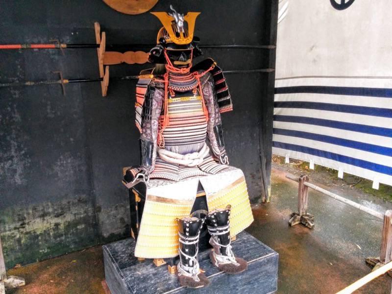 仙巌園 島津義弘公所用鎧写