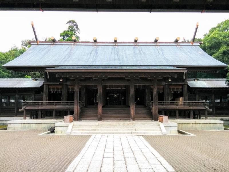 宮崎神宮 本殿