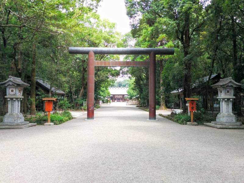 宮崎神宮 参道7