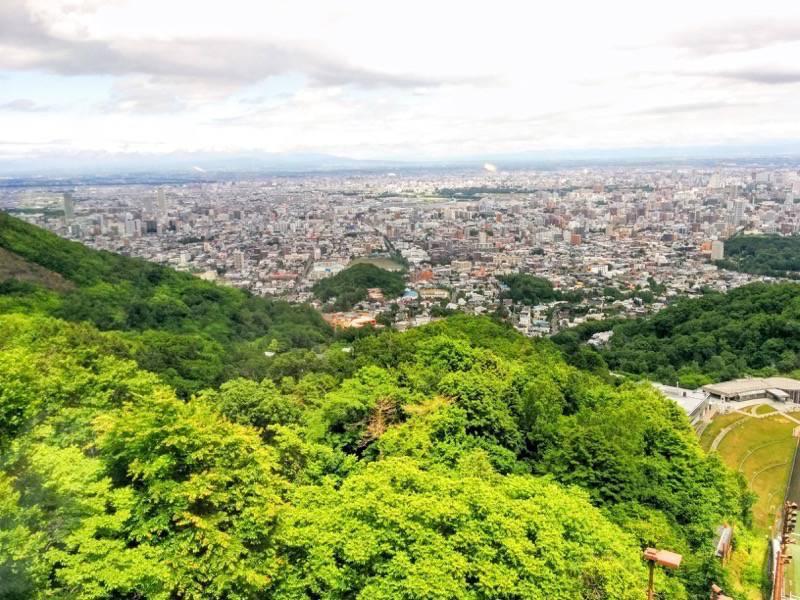 大倉山ジャンプ競技場 ジャンプ台からの眺め3