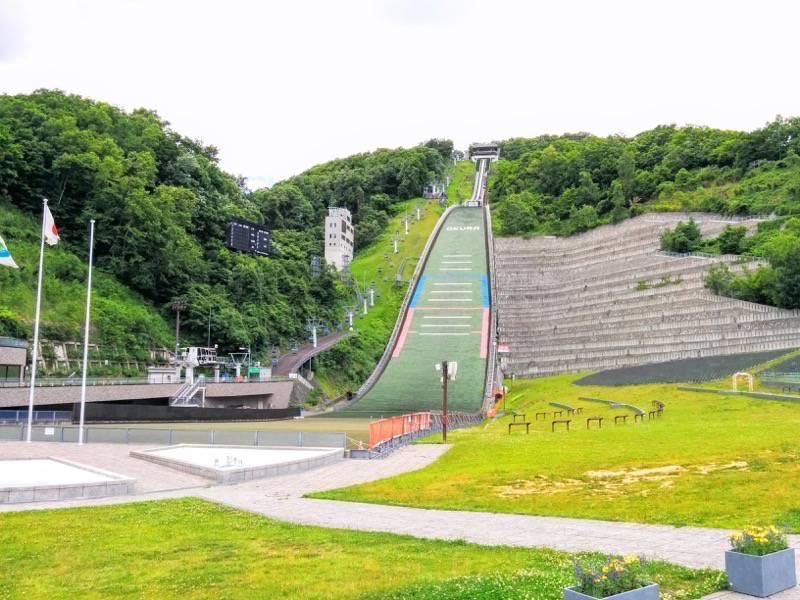 大倉山ジャンプ競技場 ジャンプ台1