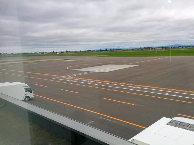 丘珠空港 滑走路