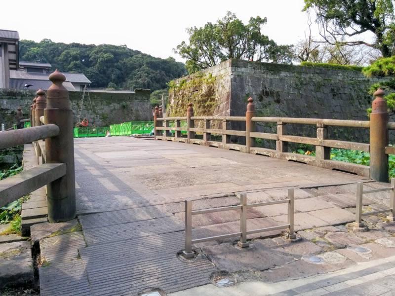鶴丸城 鹿児島城 石橋1