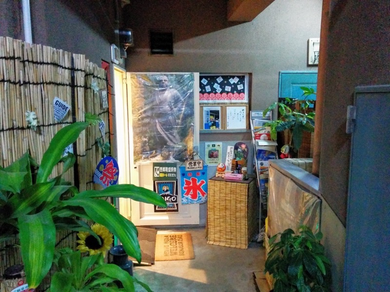 K10カフェ 入口