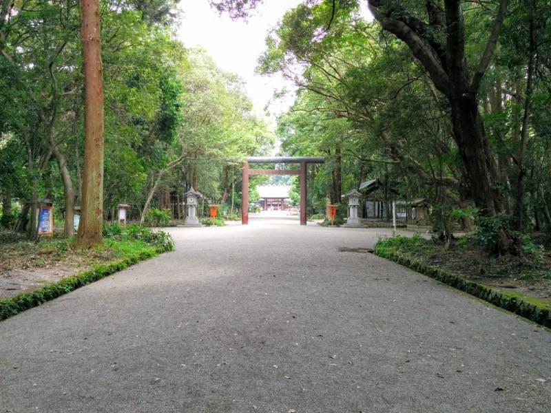 宮崎神宮 参道4