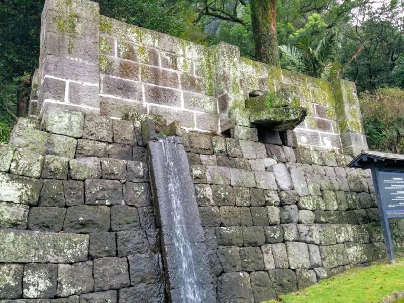 仙巌園 水力発電用ダム跡1