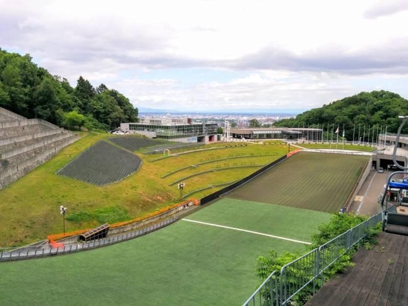 大倉山ジャンプ競技場 ジャンプ台6