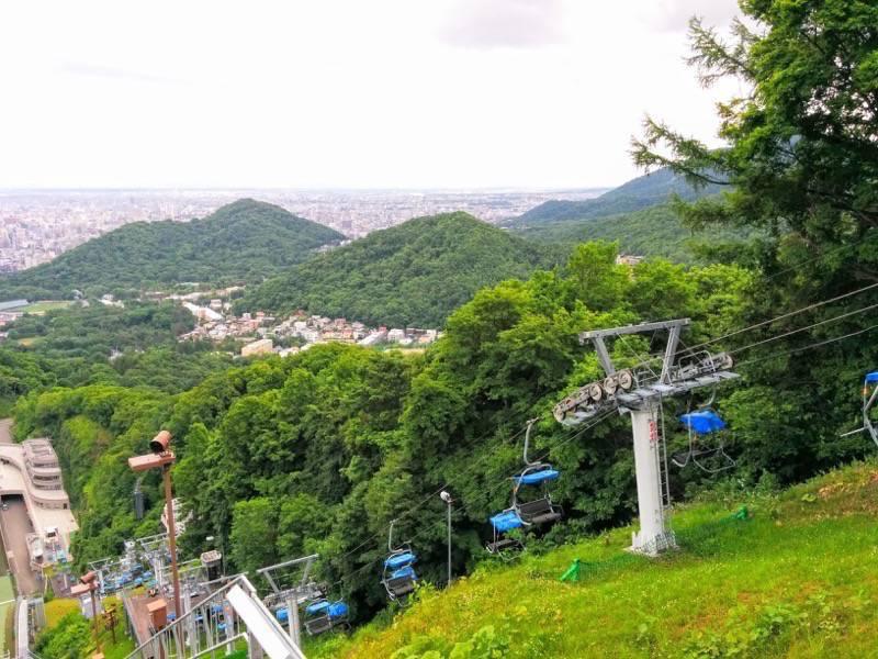 大倉山ジャンプ競技場 ジャンプ台からの眺め5