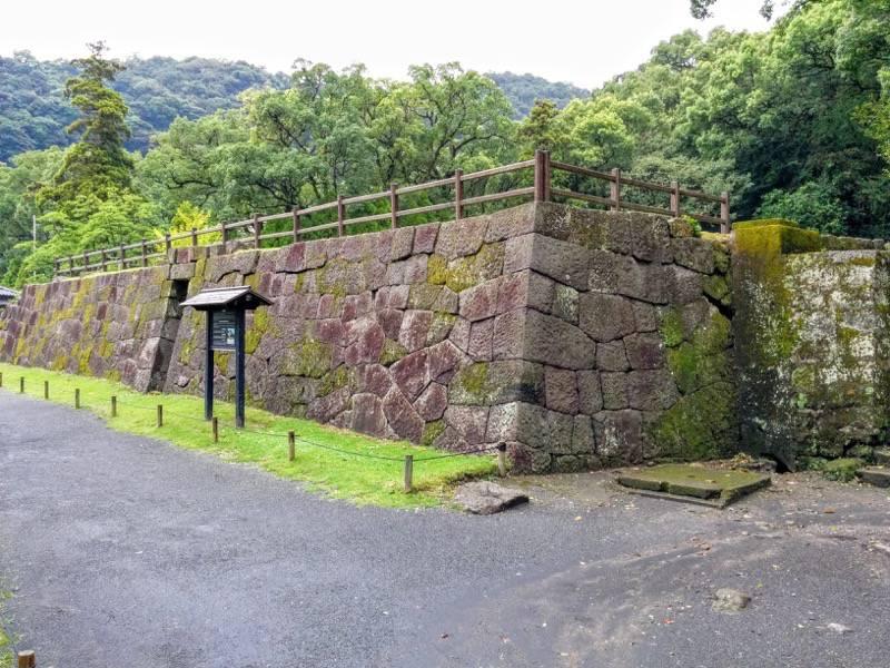 仙巌園 反射炉跡1