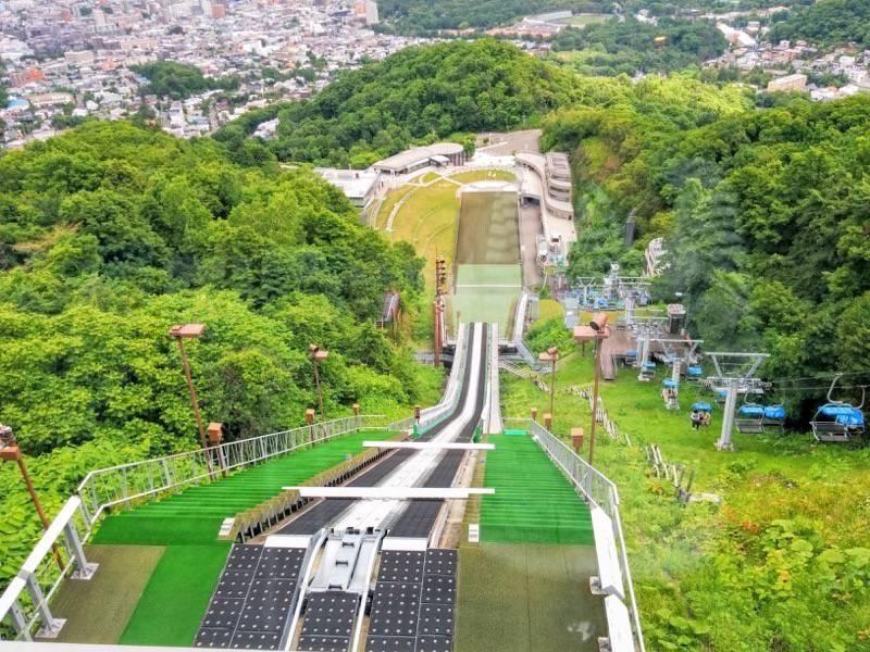 大倉山ジャンプ競技場 ジャンプ台からの眺め4