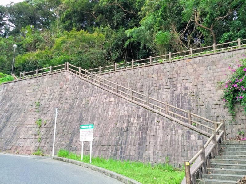 東福寺城跡1入口